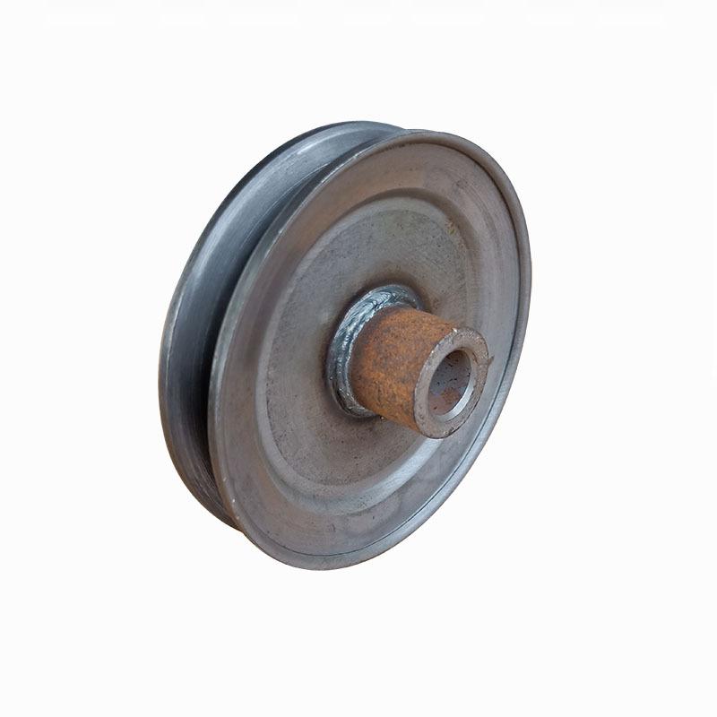 厂家直销劈开式皮带轮 单槽A型直径100皮带轮尺寸精准质量过硬示例图1