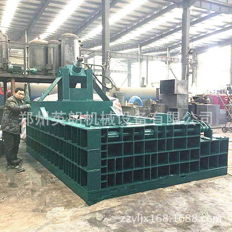 卧式高效废旧金属压块机 废铁压块机 金属废料液压压块机示例图13