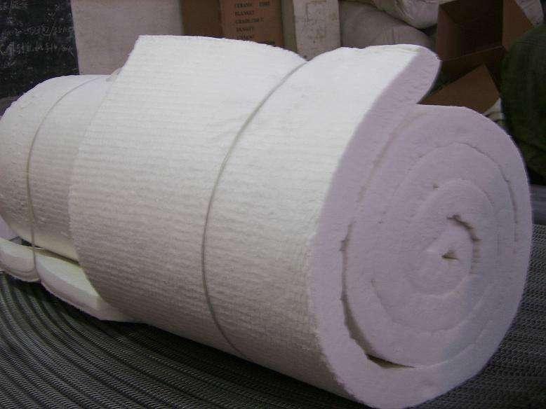 厂家供应优质硅酸铝 含铝保温毯保温棉针刺毯示例图8