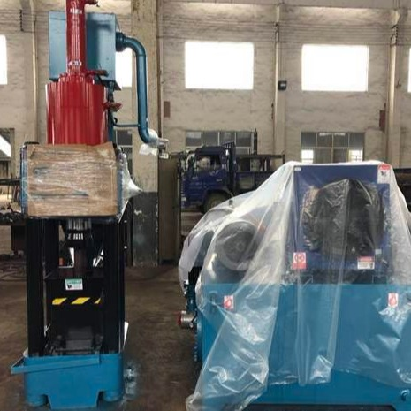 鐵屑壓塊機 金屬壓塊機設備SBJ-250出口款冶金液壓