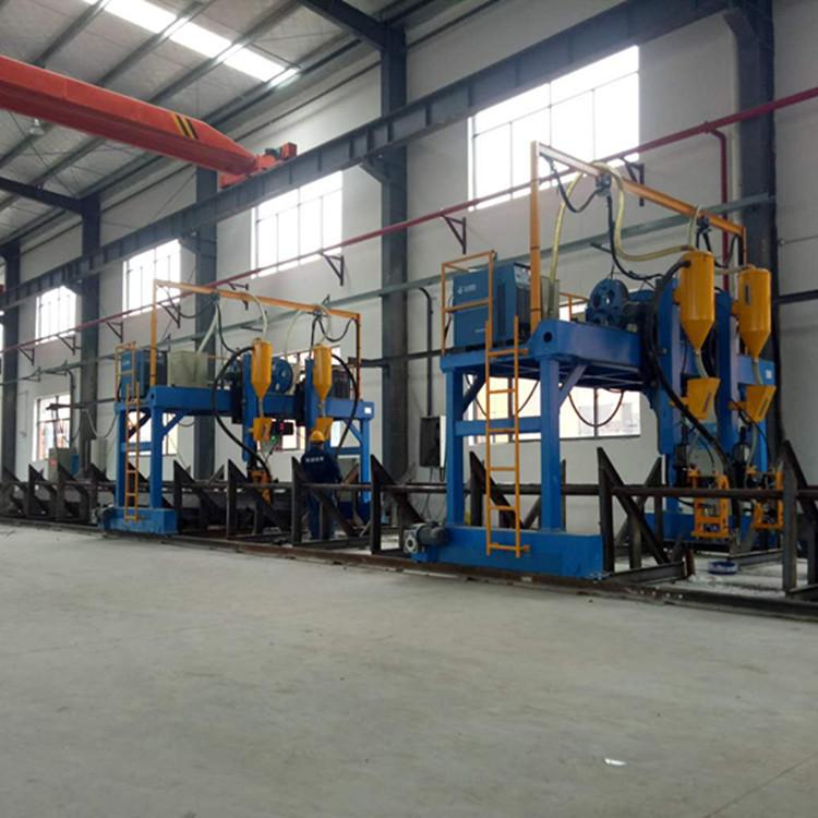 H型钢生产线江苏厂家直销上海 现货批发西安钢结构生产线设备示例图3