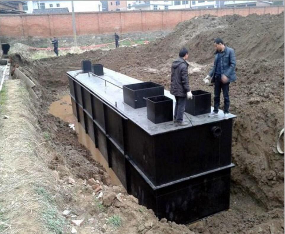 城鎮農村小區別墅污水處理設備一體式環保設備100%達標示例圖5