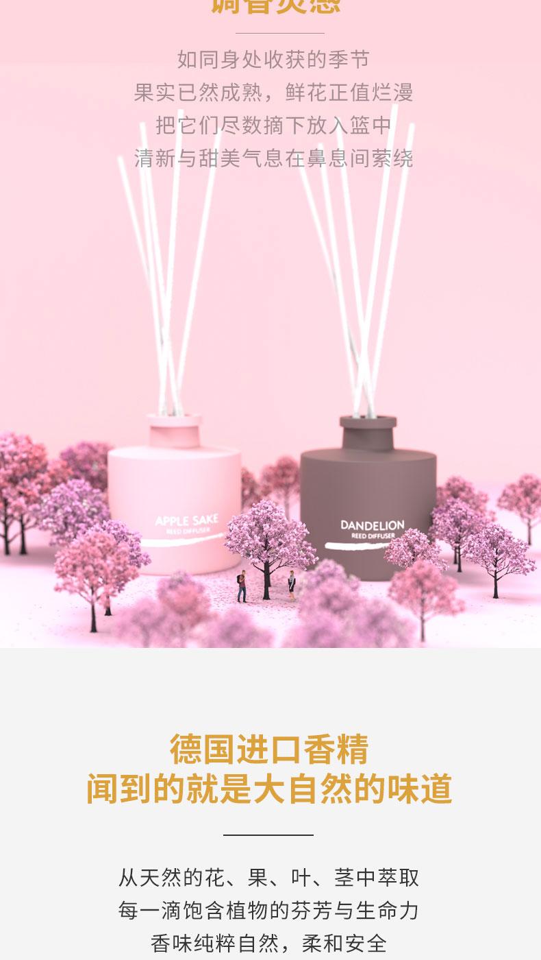 無火香薰瓶 100ML圓形卡口香薰瓶空氣清新玻璃空瓶噴漆示例圖1