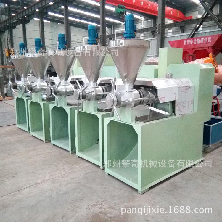 型号多全新现货攀奇螺旋榨油机各种型号全自动榨油机菜籽榨油机示例图3