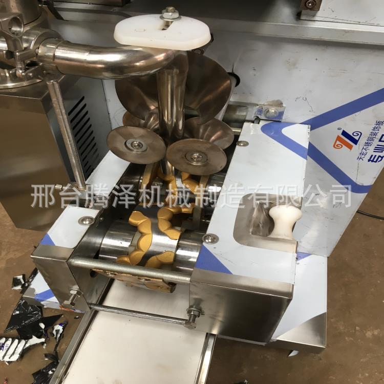 特价促销新款180型饺子机仿手工水饺机 全自动饺子机成型机蒸饺机示例图7