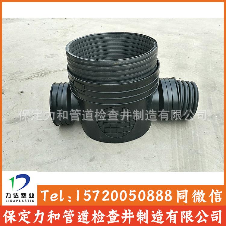 力和管道 专业生产塑料检查井 污水流槽井 源头厂家示例图6