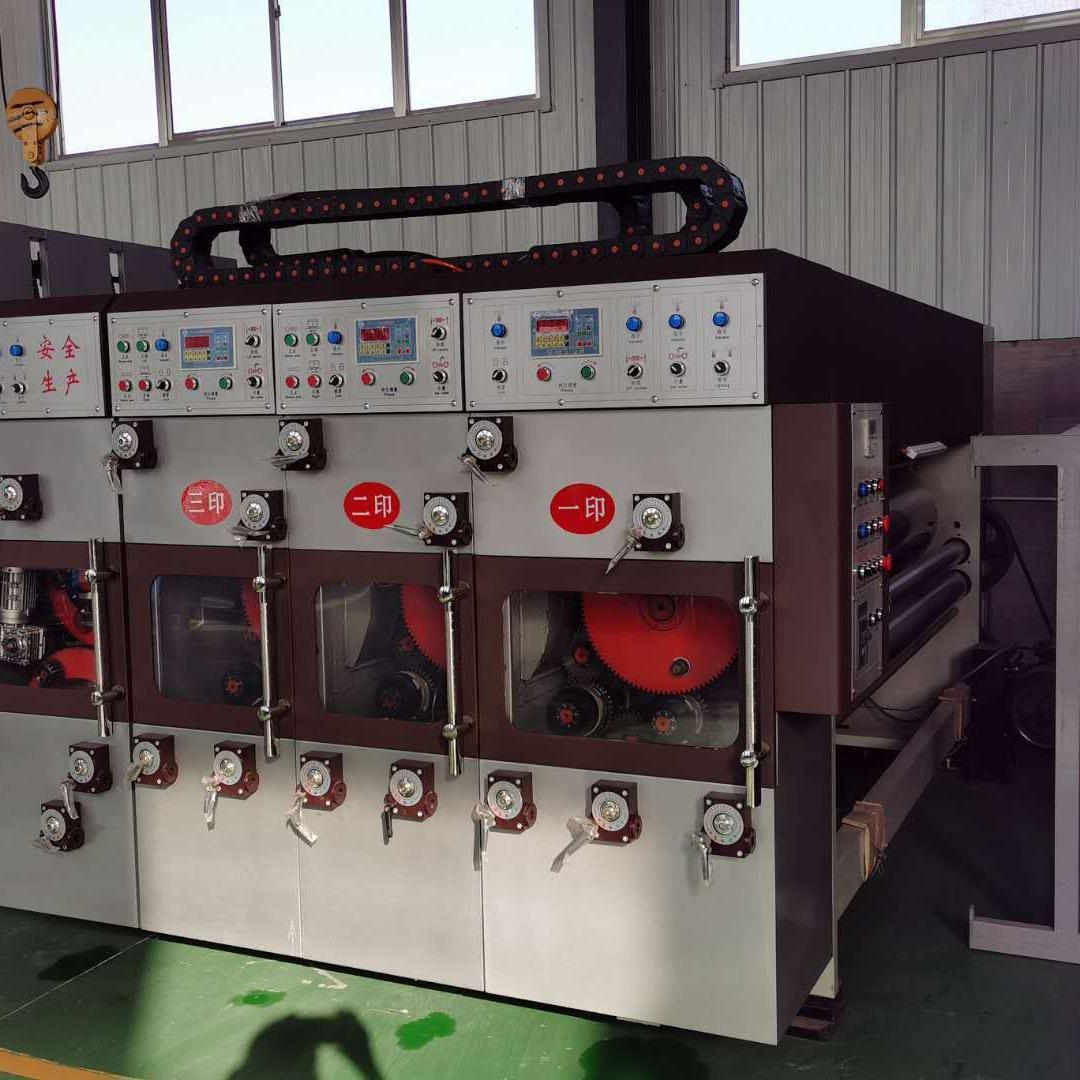 匯邦  紙箱水墨印刷機   紙箱印刷機   印刷開槽模切機    紙箱機械 紙箱設備