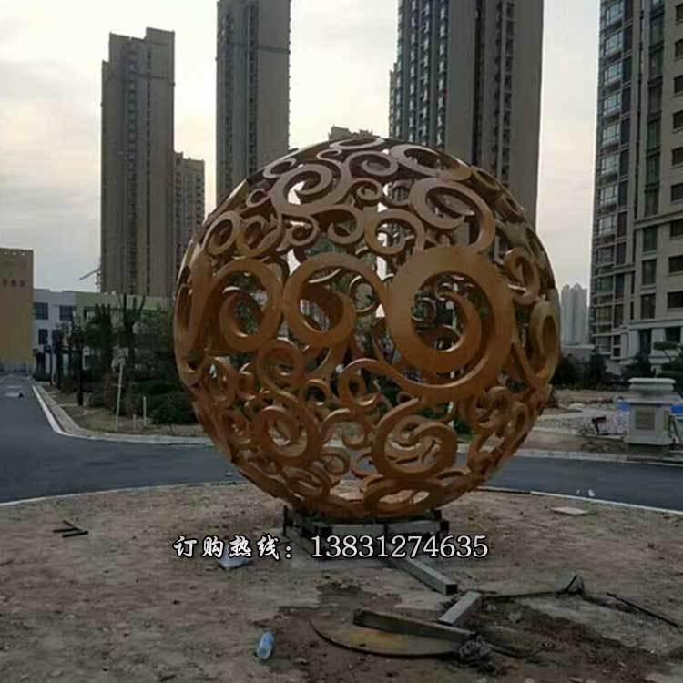 直銷不銹鋼鏤空球 優質大型不銹鋼鏤空球定做專業加工 鏤空球不銹鋼雕塑大量供應唐韻雕塑
