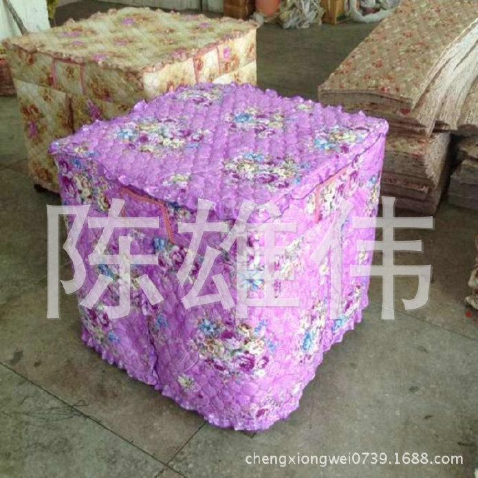 大量供应印花加棉桌布 花纹加棉桌布 家用加棉桌布 价格优惠示例图3