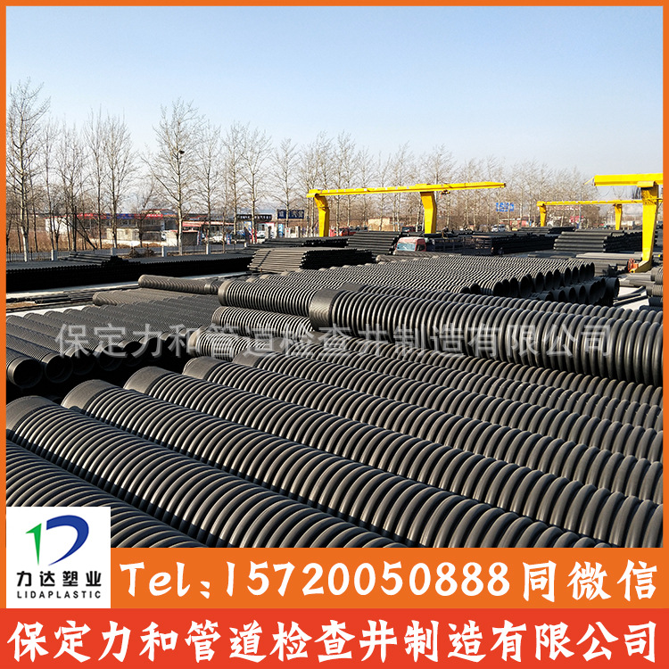 HDPE双壁波纹管 雨污水管网专用 承插口连接示例图11