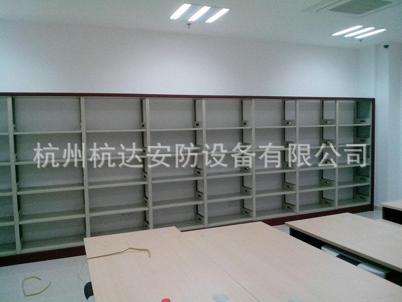厂家定做 图书馆钢制书柜 大型多层书柜系列示例图73