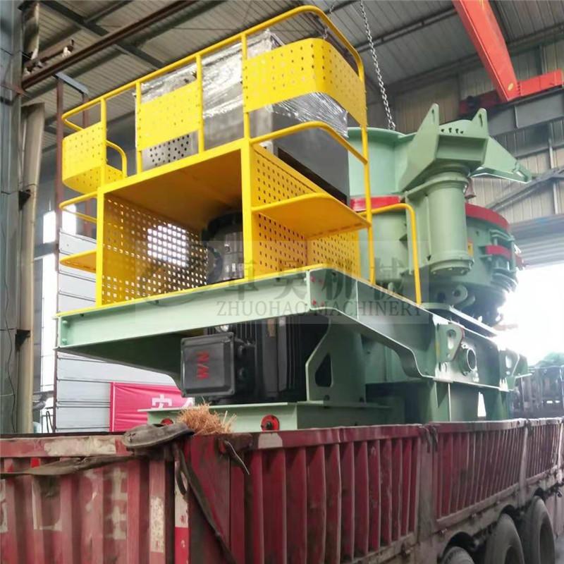 卓昊新型鵝卵石制砂機 立軸沖擊式制砂設備 VSI河卵石制砂機 石料整形制砂機