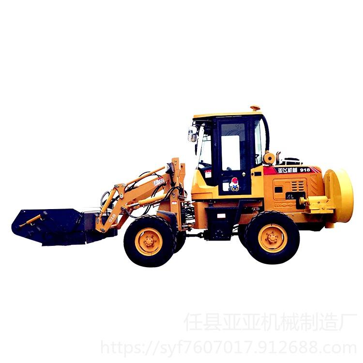 鏟車掃地機 裝載機改清掃車 國產滑移清掃車 簡單用法說明