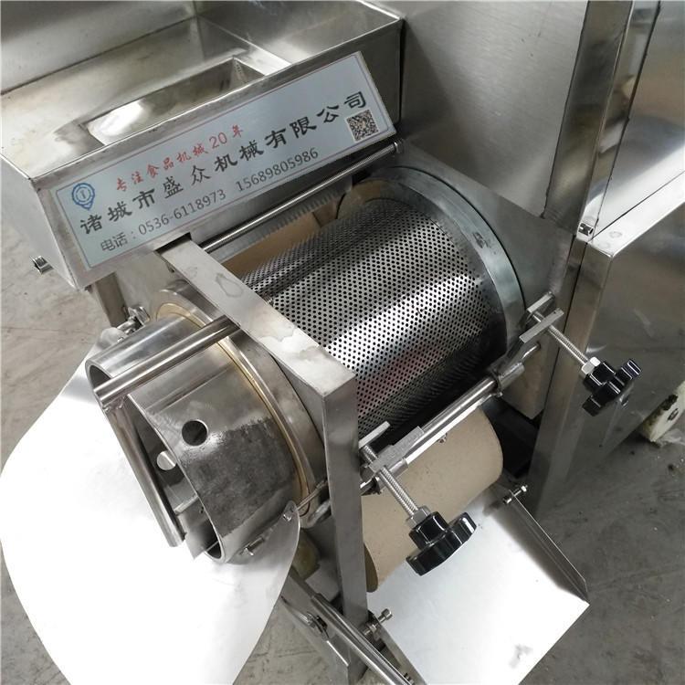 魚肉采集機 魚肉魚刺分離機 魚丸全套加工設備