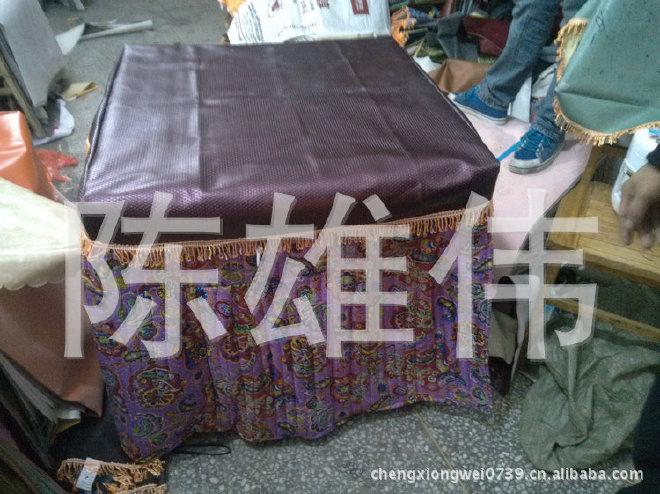 热销推荐防水皮革桌布 田园皮革桌布 pvc皮革桌布示例图3