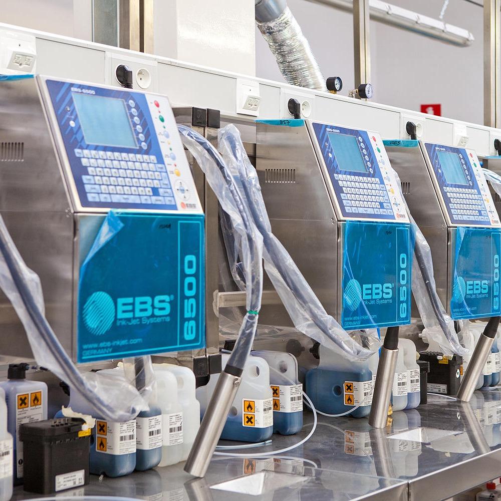 進口噴碼機 廠家直銷 在線噴碼機 自動打標機 EBS6600