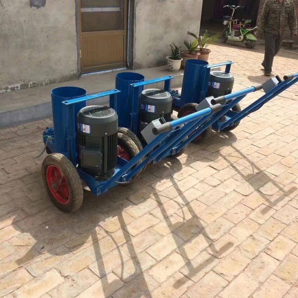 經典新款手推式切樁機 切管樁割樁機 破樁機 卡箍式截樁機今日報價