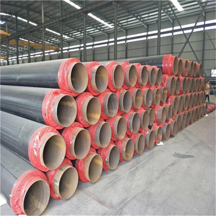 219聚氨酯保溫鋼管 金星 聚氨酯直埋管保溫廠家 熱力保溫管道價格 價格合理