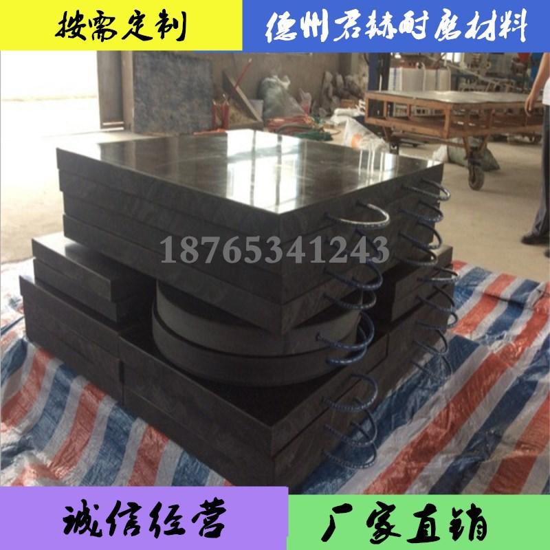厂家直销三一中联支腿垫板 吊车高分子垫脚板 平面凹槽泵车垫板示例图9