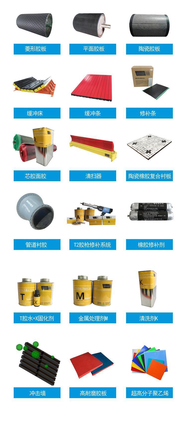 矿山滚筒包胶胶板,滚筒包胶粘接胶生产厂商示例图23