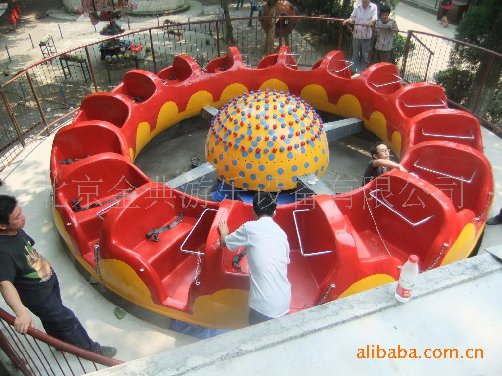第2代蘑菇转盘 游乐设备 游艺机 游乐设施 北京游乐设备示例图2