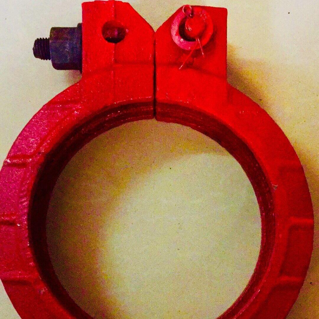 廠家直銷150低壓泵管管卡,175法蘭泵管管卡,泵管管卡