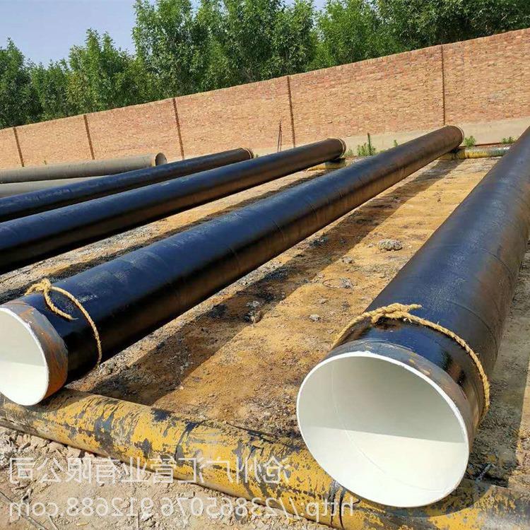 承接水利工程防腐管道批發 加強級環氧煤瀝青防腐鋼管 三油兩布防腐鋼管 質量可靠 品質保證