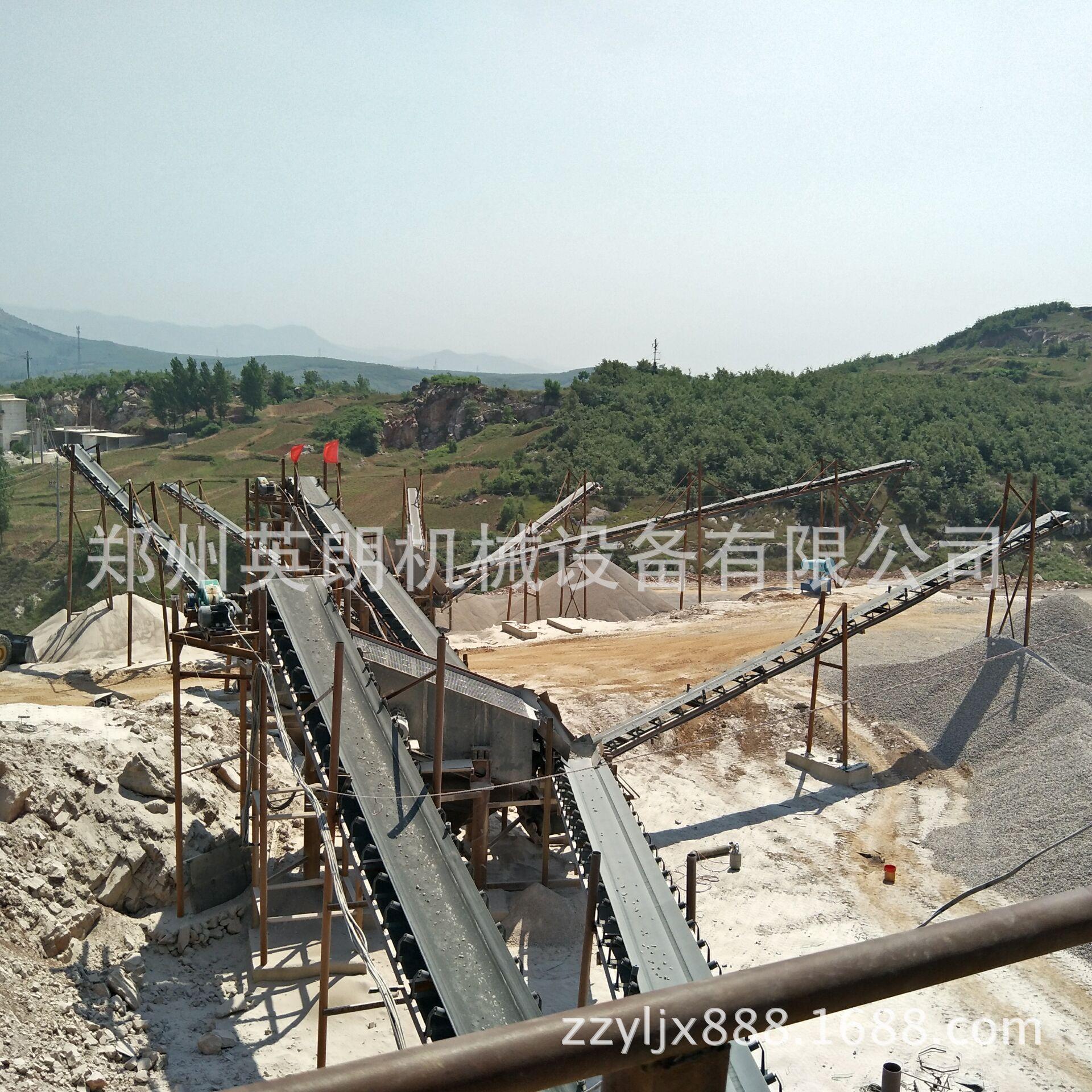 新型高效石料生产线 石料制砂生产线 花岗岩矿石破碎生产线报价示例图13
