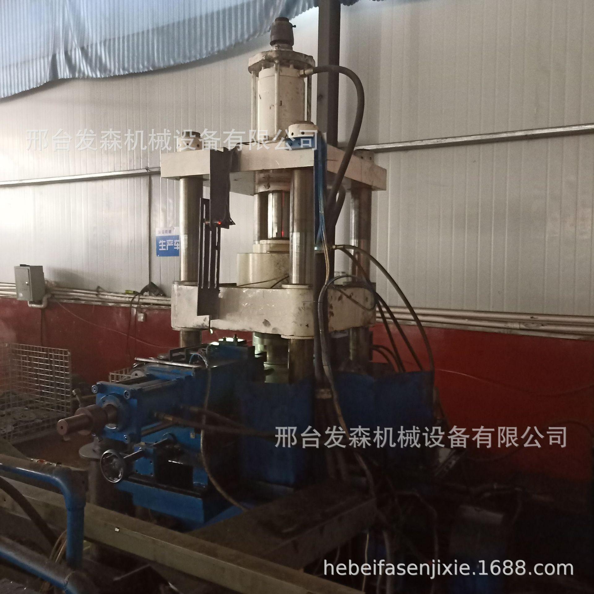 旋压机  旋压皮带轮制作机械 大型旋压机 劈开式皮带轮专用示例图1