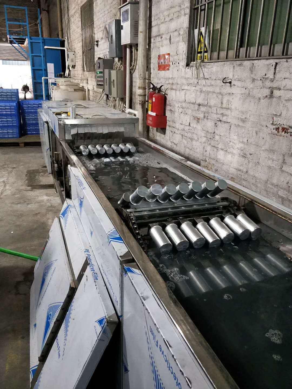 五金件超声波清洗机 铝件除油去蜡超声波清洗机 超声波清洗生产线示例图4