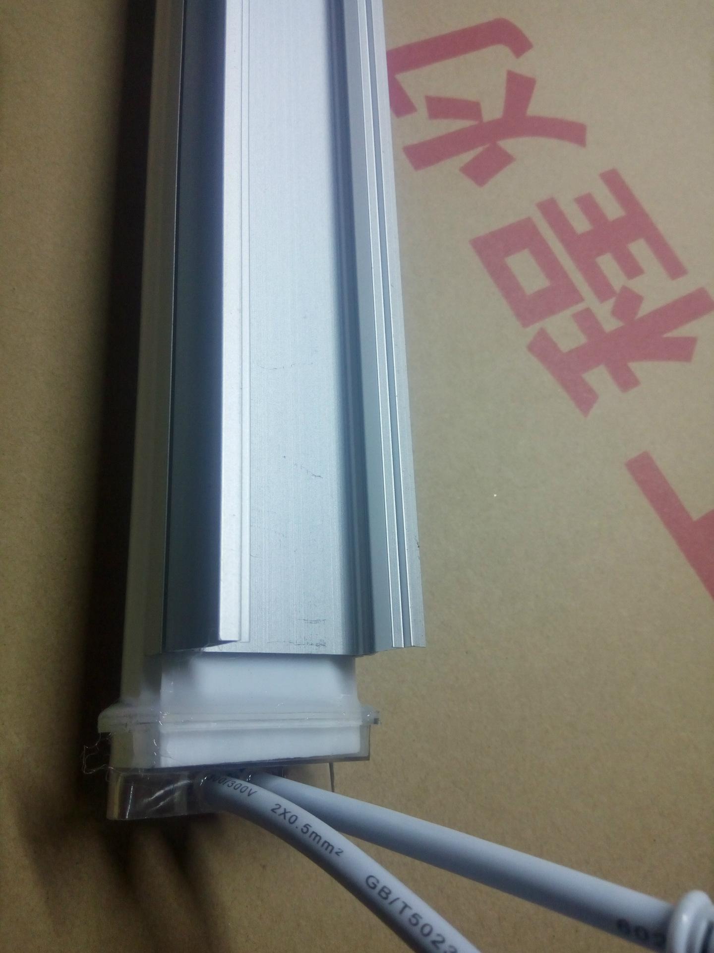 半透明单色轮廓灯 防水LED护栏灯 led数码管护栏管 铝座数码管示例图10