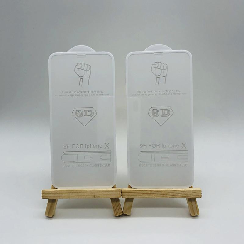 手机?;つphoneX全屏苹果钢化膜  窄边6D满版 刘海IPX 冷雕蚀刻