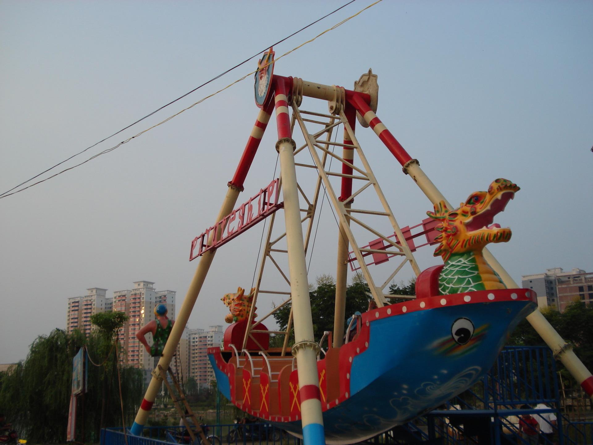 儿童游乐设备24座海盗船供应 郑州大洋大型游乐海盗船生产厂家示例图2