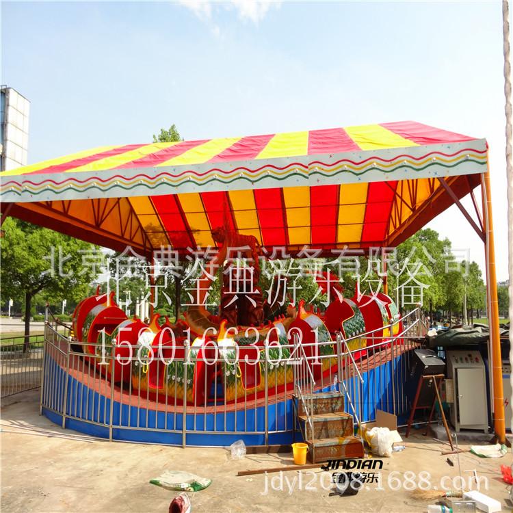 北京金典游乐设备龙腾虎跃游乐设备儿童游乐场设备公园游乐设备示例图9