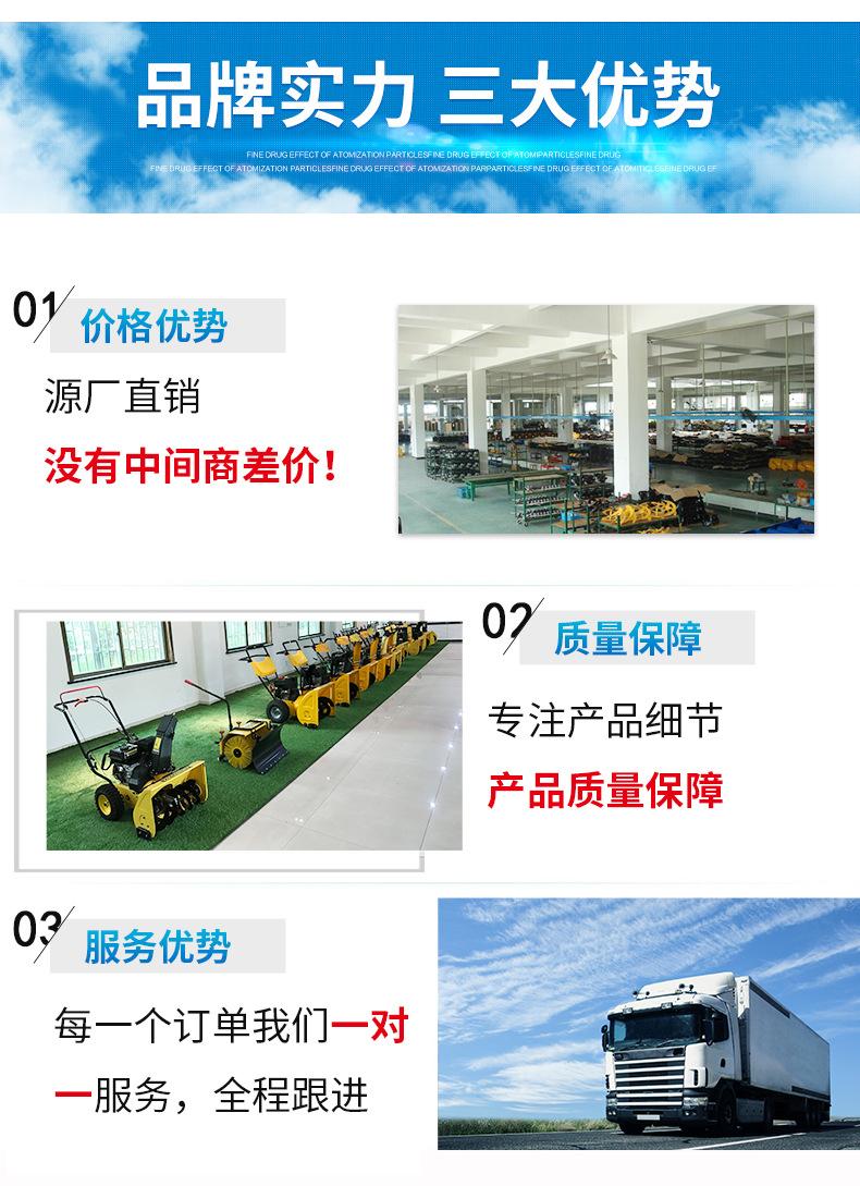供应FH-4560路面吸叶机 自走式吸叶机 落叶清扫设备 欢迎咨询示例图7
