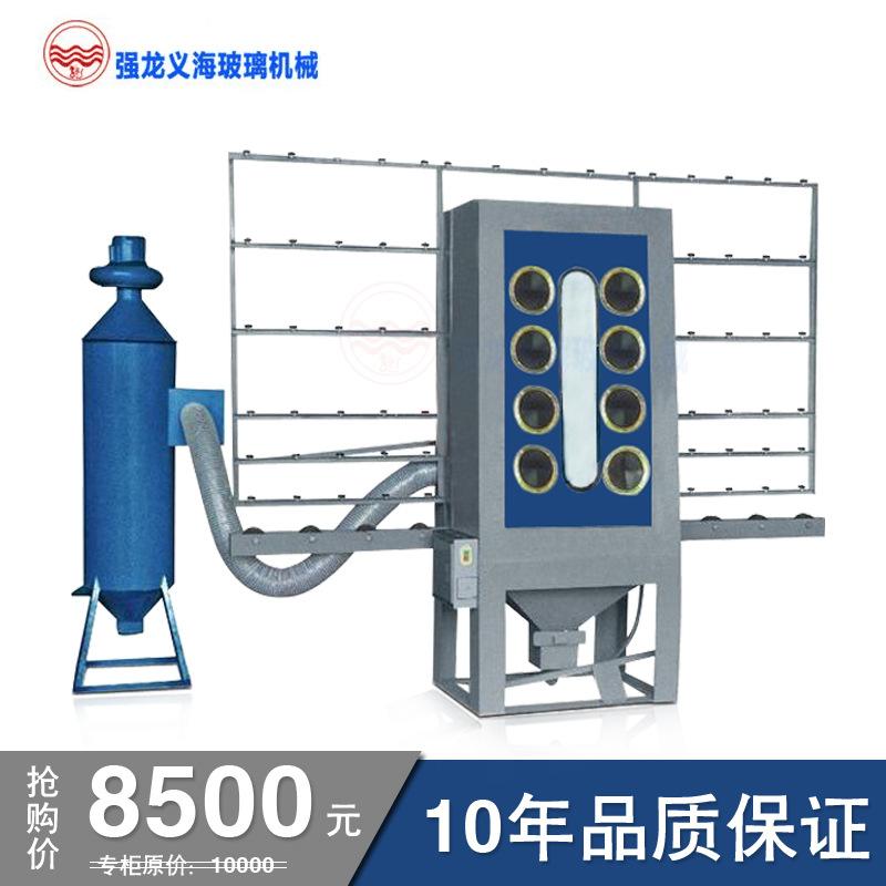 强龙义海手动喷砂机小型喷砂机工艺品表面处理瓷砖喷砂设备玻璃雕刻浴室门QLD-6330