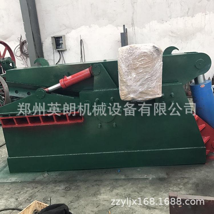 报废汽车鳄鱼剪 重型金属废料废铁剪切机 高压力200吨废钢剪断机示例图17