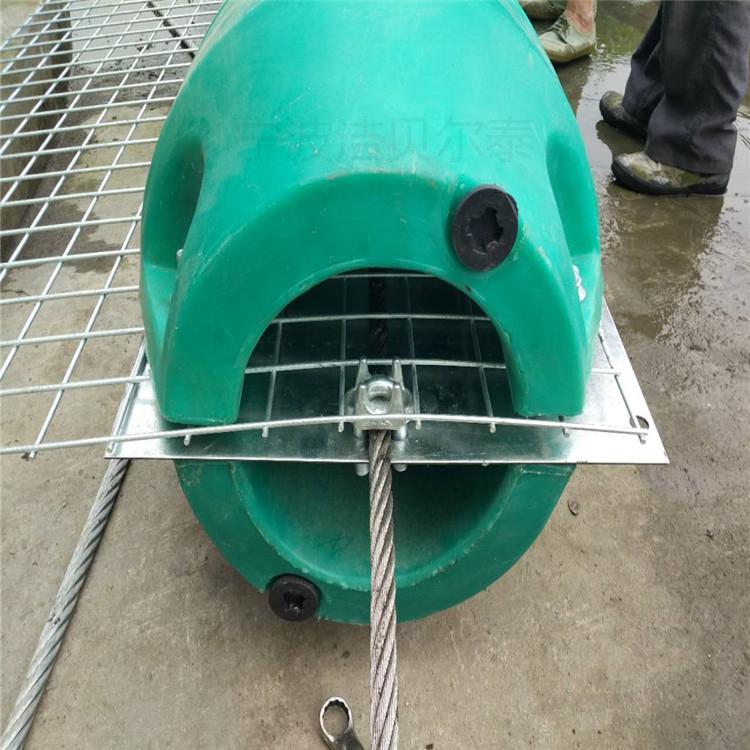 水下漂浮物挂网 拦污浮筒 水上工程 警示浮体