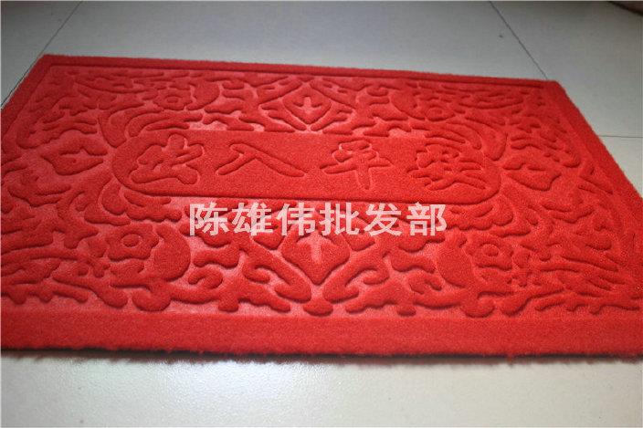 厂家批发拉绒门垫 防滑门垫 防滑吸水客厅门垫 欢迎订购示例图5
