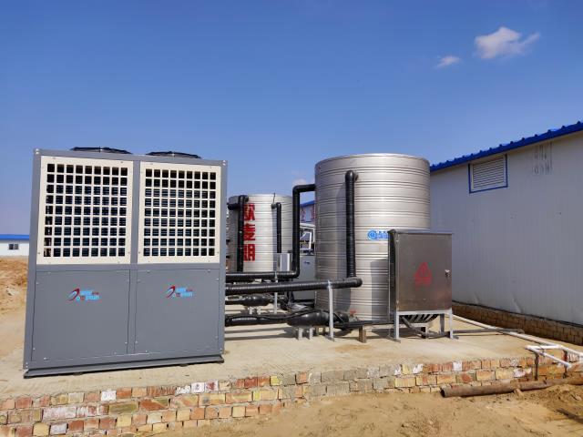 大型采暖设备 工地空气能热泵采暖系统 空气能热泵采暖示例图6