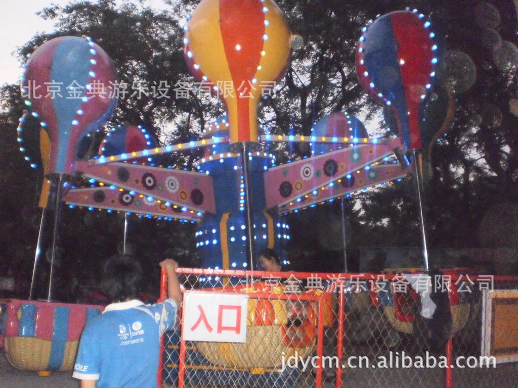 北京金典 桑巴气球 室外游乐设备 回本快的游乐设备示例图9