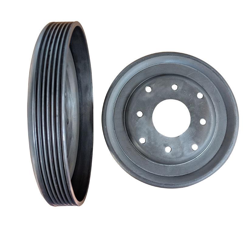 厂家直供皮带轮健身器械动感单车专用轮设计美观尺寸精准示例图1