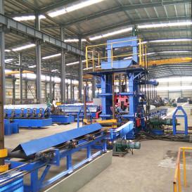 江苏钢结构焊接设备专业制造商 厂家直销钢结构拼焊矫一体机