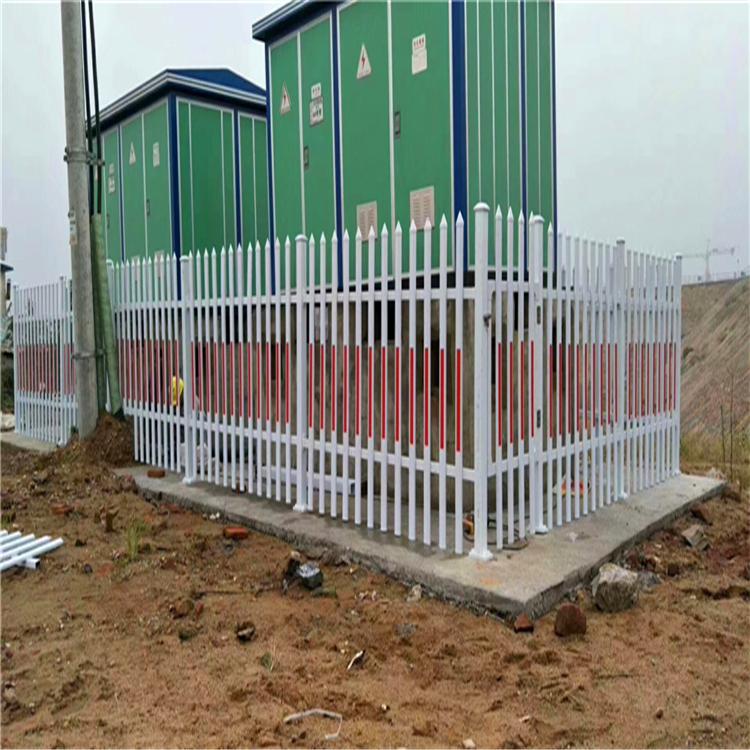 围墙铁艺护栏 厂区护栏 围墙护栏厂家 锌钢护栏厂家直销