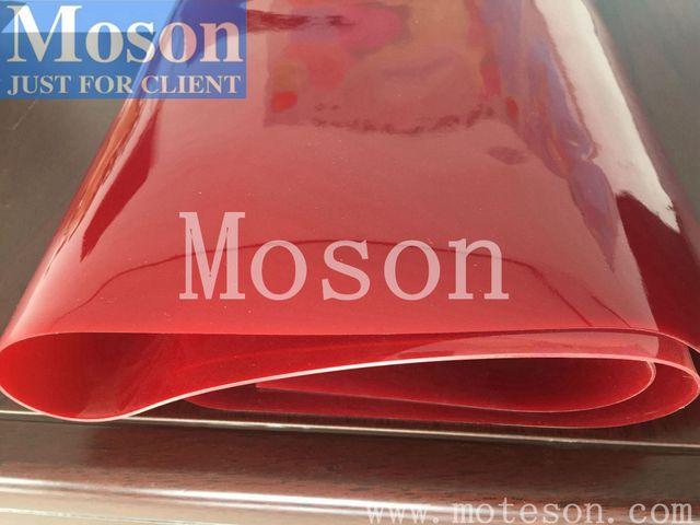 Moson厂家直销 红色 焊接遮光屏风 防弧光板材 环保型无毒无味