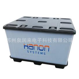 pp蜂窝板围板箱 塑料围板箱 汽车部件周转箱 大型蜂窝板周转箱