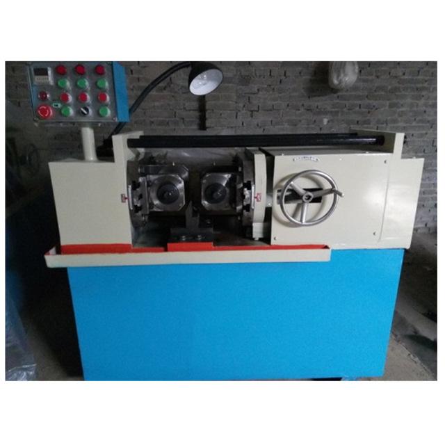 滾絲機 鋼筋滾絲機 小型滾絲機 40型液壓滾絲機 圓鋼滾絲機廠 塔西供應