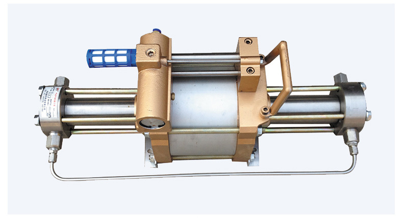 山东欣诺厂家销售工业气体增压泵 耐用保压好 小型气驱气体增压泵示例图14