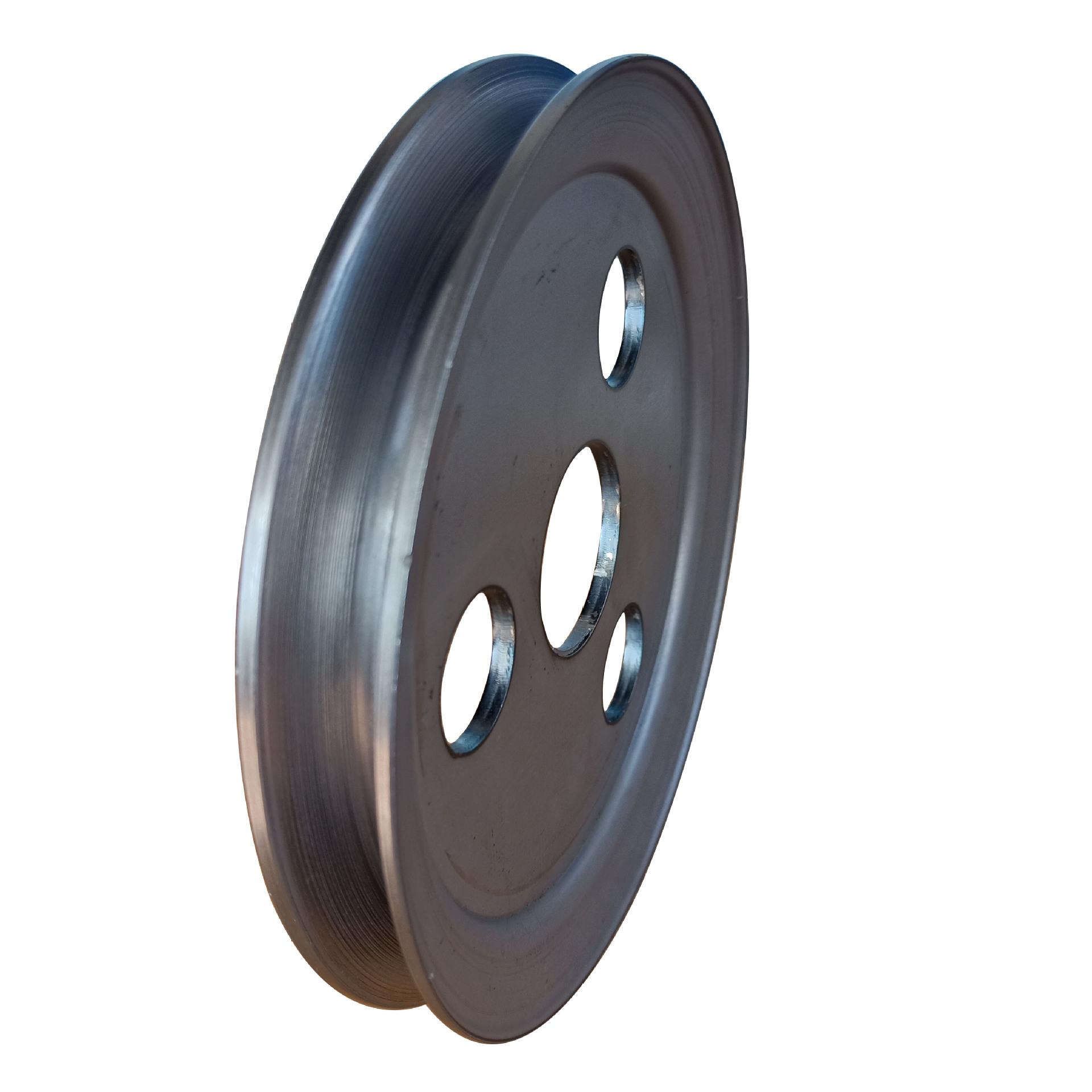 厂家直销单槽 V型 劈开式 旋压皮带轮、可加工定制示例图1
