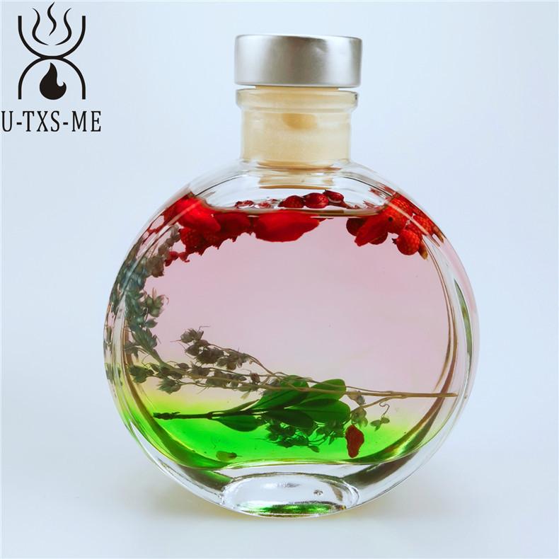 厂家直销玻璃杯家居植物精油环保藤条天然干花散香器无火香薰示例图5